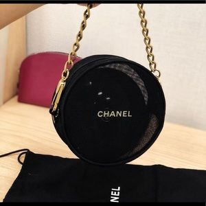 Chanel gift bag with mirror